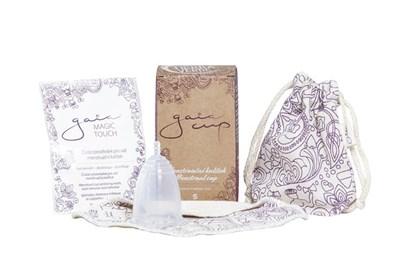Obrázok pre výrobcu Menštruačný kalíšok Gaia cup S