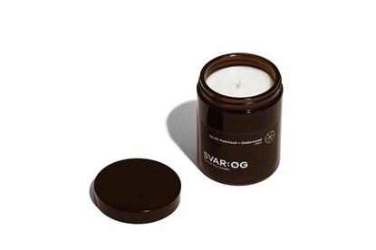 Obrázok pre výrobcu Sójová sviečka SVAR:ØG - pačuli a cédrové drevo