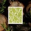 Hubka - dubový list - zelený
