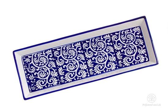 Keramická tácka - ornament