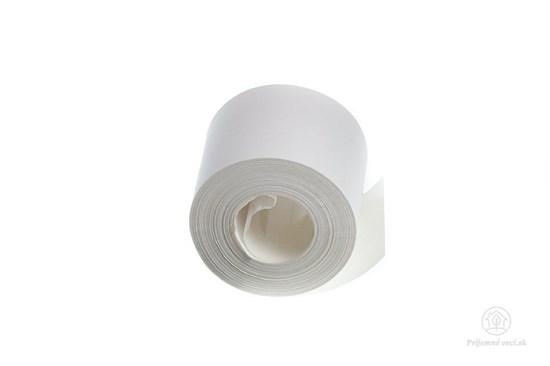 Papierová lepiaca páska malá 25m - biela