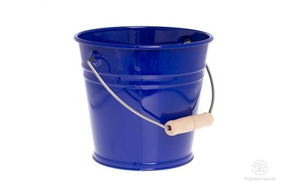 Obrázok pre výrobcu Kovové vedierko - modré