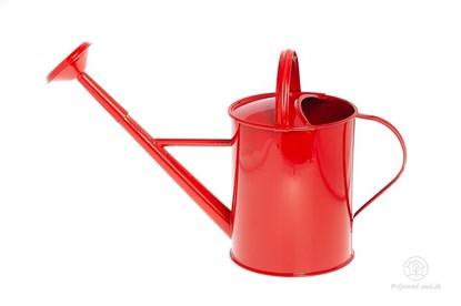 Obrázok pre výrobcu Kovová krhlička - červená
