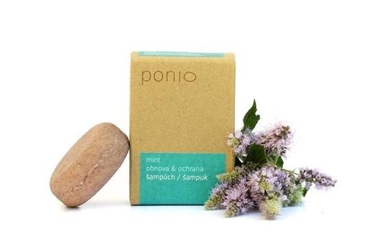 Šampúch s kondicionérom Ponio - mint - 30g