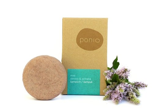 Šampúch s kondicionérom Ponio - mint - 60g