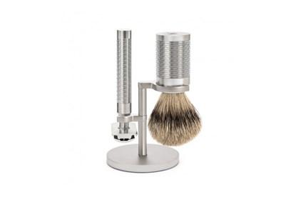 Obrázok pre výrobcu Set na holenie ROCCA - strieborný