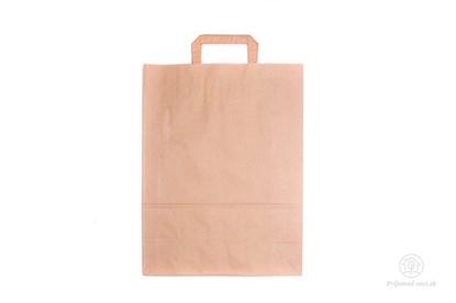 Obrázok pre výrobcu Papierová taška stredná - ploché ucho