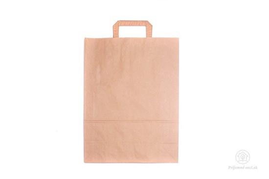 Papierová taška stredná - ploché ucho