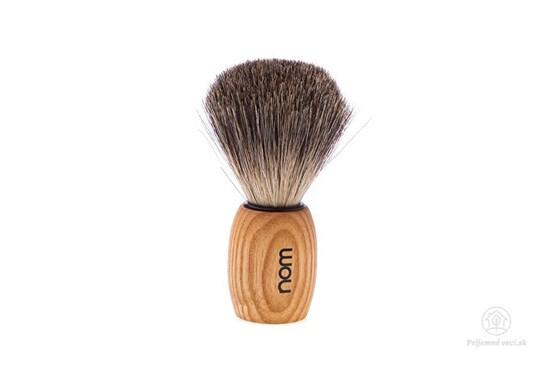 Štetka na holenie OLE jaseň - tmavé jazvečie štetiny