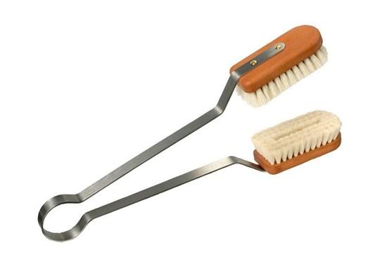 Prachovka na čistenie listov rastlín - kozie vlasy