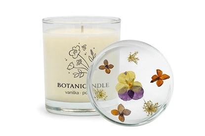 Obrázok pre výrobcu Sójová sviečka Botanicandle - veľká - vanilka, pomaranč