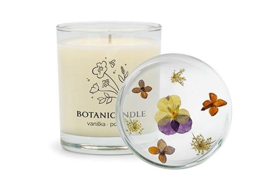 Sójová sviečka Botanicandle - veľká - vanilka, pomaranč