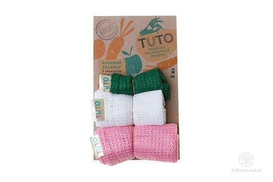 Sieťové vrecká na potraviny TUTO - trojbalenie