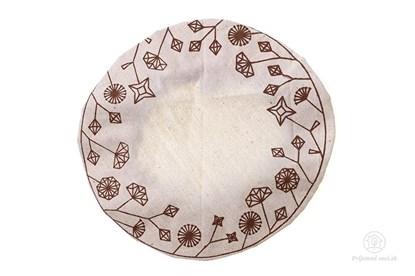 Obrázok pre výrobcu Ekoveko kvety - pokrývka na misu/tanier - malá