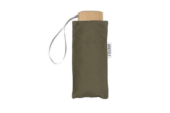 Skladací dáždnik Anatole mini khaki - Leonard