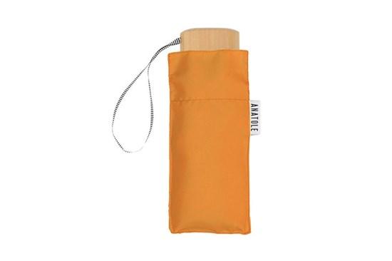 Skladací dáždnik Anatole mini oranžový - Auguste