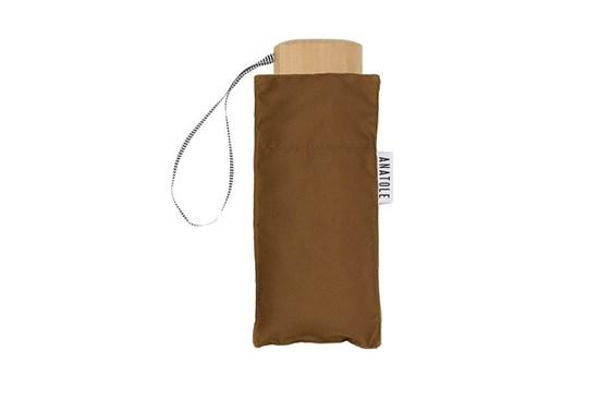 Skladací dáždnik Anatole mini karamelový - Augustine