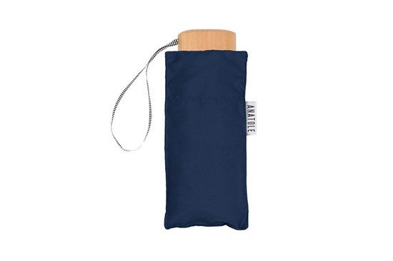 Skladací dáždnik Anatole mini tmavomodrý - Colette