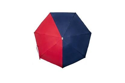 Obrázok pre výrobcu Skladací dáždnik Anatole mini - Emile - dvojfarebný modrá/červená
