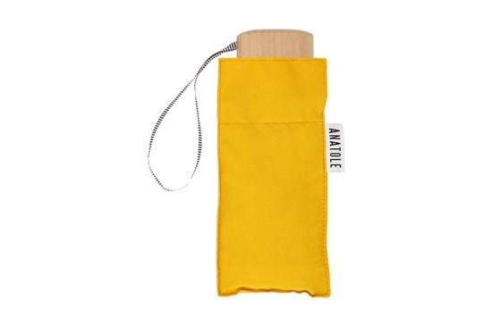 Skladací dáždnik Anatole mini horčicovo žltý - Martin