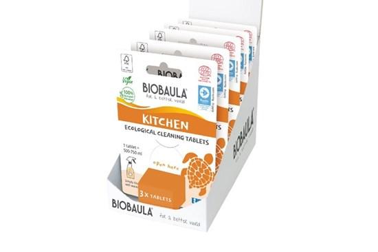 Čistiaci prostriedok Biobaula - tableta 3ks - kuchyňa