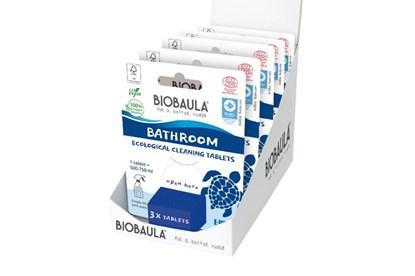 Obrázok pre výrobcu Čistiaci prostriedok Biobaula - tableta 3ks - kúpeľňa