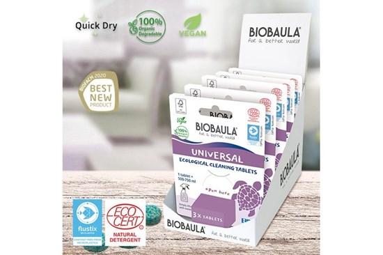 Čistiaci prostriedok Biobaula - tableta 3ks - univerzál