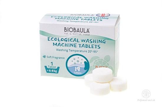 Prací prostriedok Biobaula - tableta 19ks