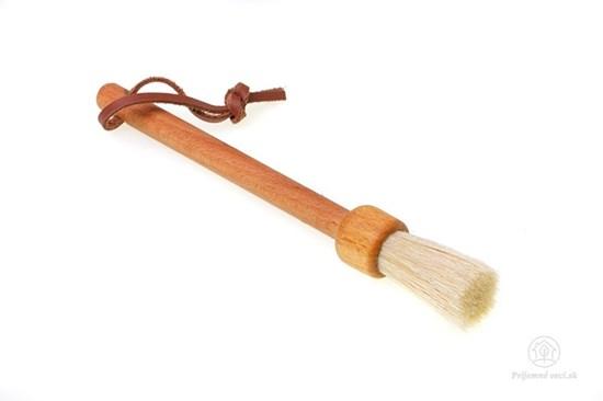 Malá drevená prachovka - štetec