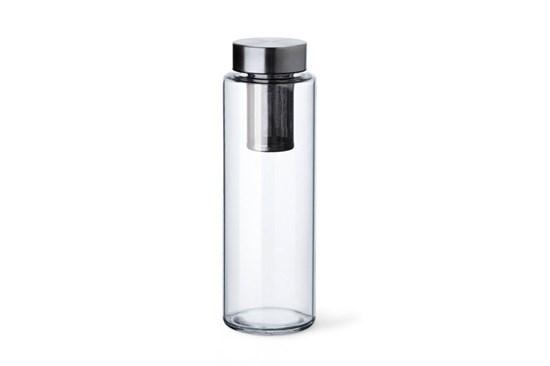 Sklenená fľaša Simax Pure Aqua so sitkom - 1l