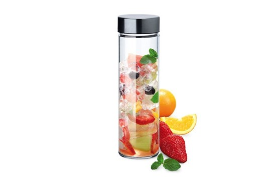 Sklenená fľaša Simax Pure Aqua - 0,5l