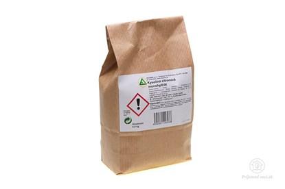 Obrázok pre výrobcu Odstraňovač vodného kameňa - kyselina citrónová 0,9kg
