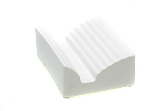Keramická mydelnička biela