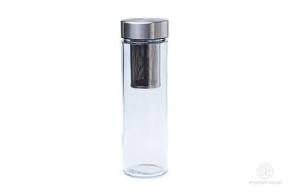 Obrázok pre výrobcu Sklenená fľaša Simax Pure Aqua so sitkom - 0,5l
