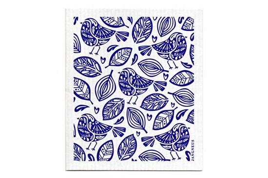 Hubka - vtáčiky modré