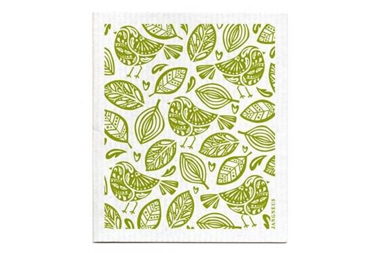 Hubka - vtáčiky zelené