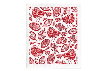 Obrázok pre výrobcu Hubka - vtáčiky červené