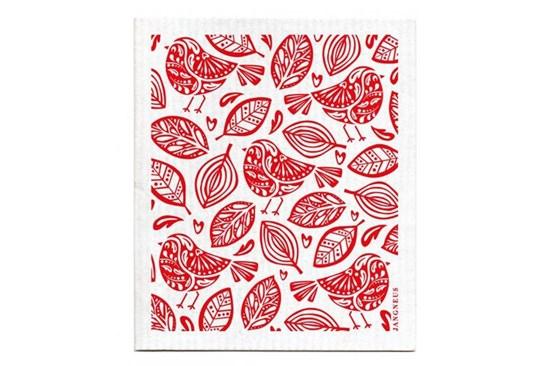 Hubka - vtáčiky červené