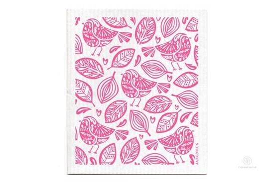 Hubka - vtáčiky ružové