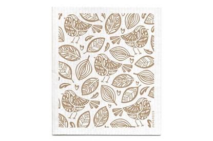 Obrázok pre výrobcu Hubka - vtáčiky béžové