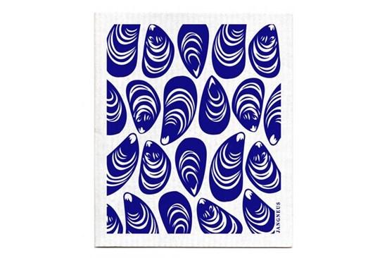 Hubka - mušle modré