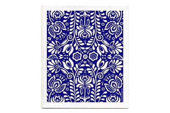 Hubka - kvety modré