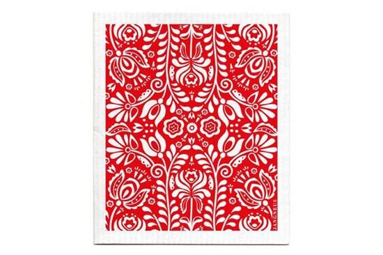 Hubka - kvety červené