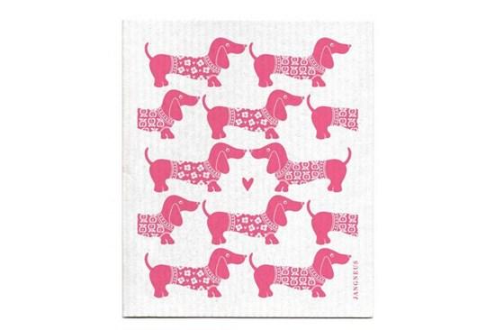 Hubka - jazvečíky ružové
