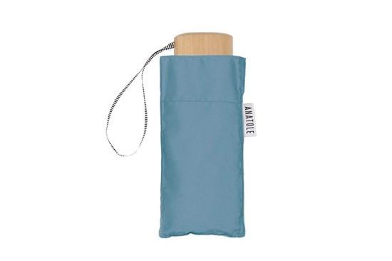 Skladací dáždnik Anatole mini modrosivý - Victor