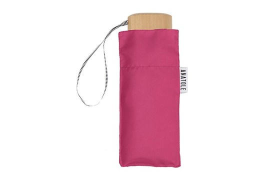 Skladací dáždnik Anatole mini ružový - Suzanne